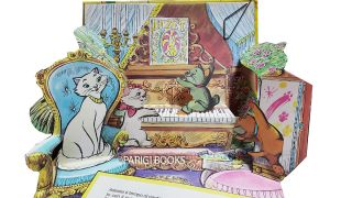 Gli aristogatti. (The Aristocats Italian Edition Pop-Up Book.)