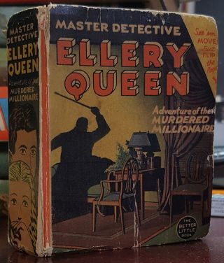 Ellery Queen, the Master Detective: The Adventure of the Murdered Millionaire. Ellery Queen