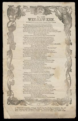 Wee-Haw-Ken, as Sung by the Great Vocalist, Tony Pastor. Broadside Ballads