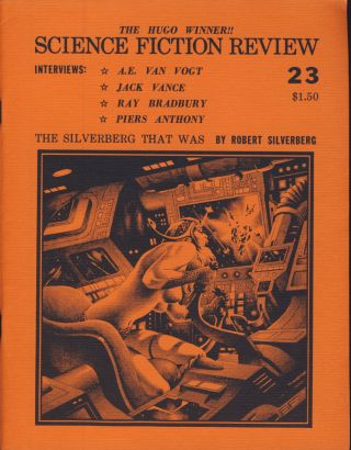 Science Fiction Review Twenty-Eight Issue Run. Richard E. Geis, ed