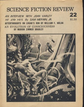 Science Fiction Review Twenty-Eight Issue Run.
