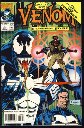 Venom: Lethal Protector. Venom: Funeral Pyre. Venom: The Enemy Within. (Three Complete Miniseries).