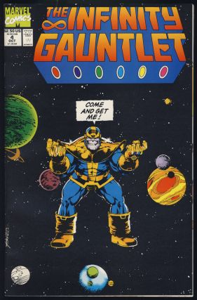 The Infinity Gauntlet. The Infinity War. (Two Complete Miniseries).