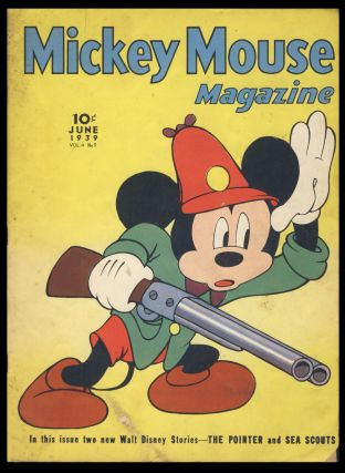 Mickey Mouse Magazine June 1939. Authors