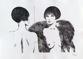 Valentina Limited and Numbered Edition Print #8. Guido Crepax