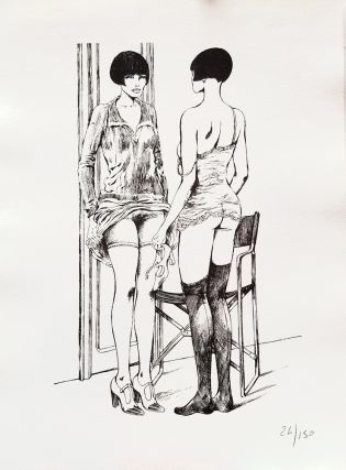 Valentina Limited and Numbered Edition Print #11. Guido Crepax
