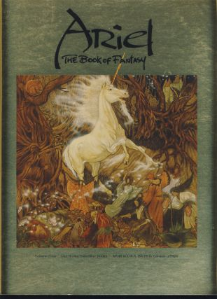 Ariel - The Book of Fantasy Volumes 1, 3 and 4.