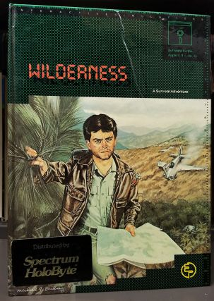 Wilderness: A Survival Adventure. (Apple II Version). Electric Transit / Spectrum Holobyte