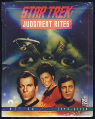 Star Trek: Judgment Rites. (PC CD-Rom Version Sealed in Box). Interplay