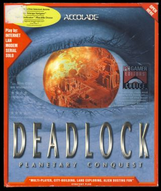 Deadlock: Planetary Conquest. (PC Big Flip Top Box Version). Accolade