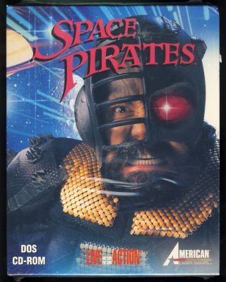 Space Pirates. (PC Big Box Version). American Laser Games