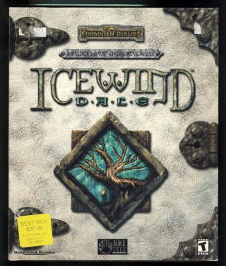 Forgotten Realms: Icewind Dale. (PC Big Flip Top Box Version). Black Isle Studios