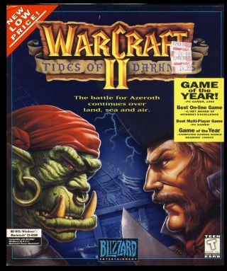 Warcraft II: Tides of Darkness. (PC/Macintosh Big Box Version). Blizzard Entertainment