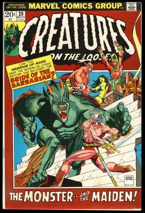 Creatures on the Loose #20. George Alec Effinger, Gray Morrow