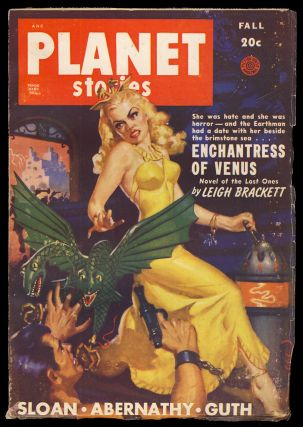Enchantress of Venus in Planet Stories Fall 1949. Leigh Brackett