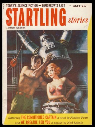 The Conditioned Captain in Startling Stories May 1953. Fletcher Pratt
