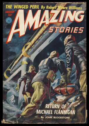 The Return of Michael Flannigan in Amazing Stories August 1952. John Bloodstone