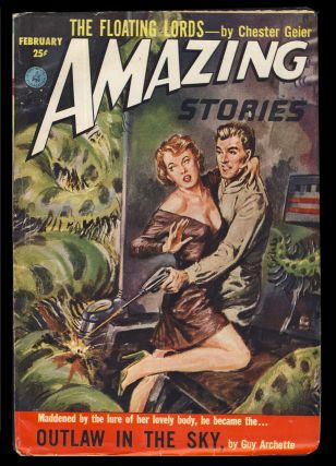 Outlaw in the Sky in Amazing Stories February 1953. Guy Archette