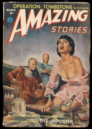 The Imposter in Amazing Stories March 1953. Paul Lohrman