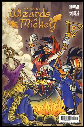 Wizards of Mickey Complete Eight Issue Series. Stefano Ambrosio, Lorenzo Pastrovicchio