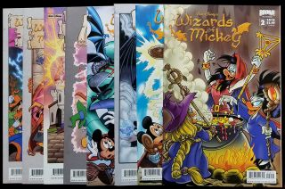 Wizards of Mickey Complete Eight Issue Series.