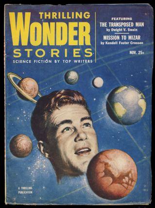 The Transposed Man in Thrilling Wonder Stories November 1953. Dwight V. Swain