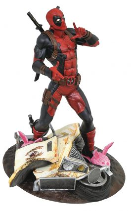 Marvel Gallery Deadpool Taco Truck Edition PVC Diorama Figure. Diamond Select Toys