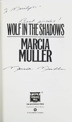 Wolf in the Shadows. (Signed and Inscribed Copy).