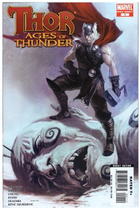 Thor: Blood Oath Complete Mini Series. Thor: The Truth of History. Thor: Reign of Blood. Thor: Ages of Thunder. Thor: Man of War.