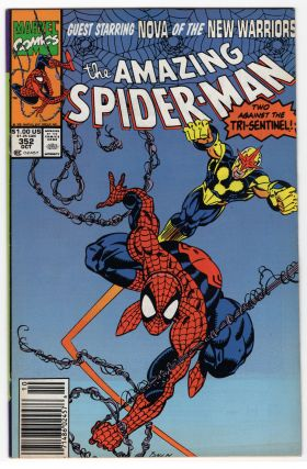 The Amazing Spider-Man #352. David Michelinie, Mark Bagley