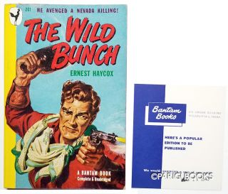 The Wild Bunch. (Bantam Review Copy). Ernest Haycox