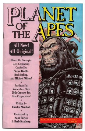 Planet of the Apes Seventeen Issue Run. Pierre Boulle, Charles Marshall, Kent Burles