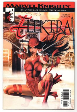 Instant Collection Elektra Twenty-Eight Issue Run. Brian Michael Bendis, Chuck Austen