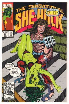The Sensational She-Hulk #39. John Byrne