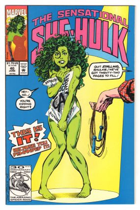 The Sensational She-Hulk #40. John Byrne