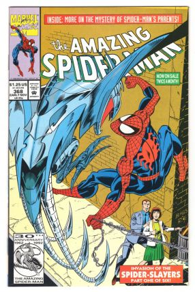 The Amazing Spider-Man #368. David Michelinie, Mark Bagley