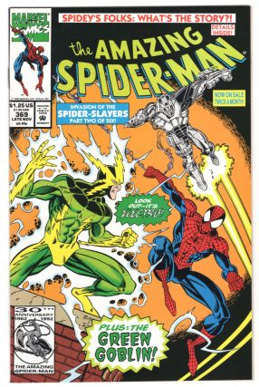 The Amazing Spider-Man #369. David Michelinie, Mark Bagley