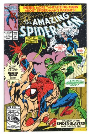 The Amazing Spider-Man #370. David Michelinie, Mark Bagley