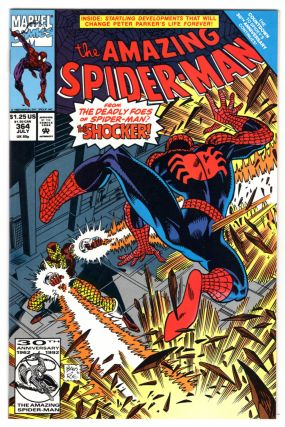 The Amazing Spider-Man #364. David Michelinie, Mark Bagley
