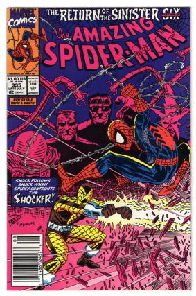 The Amazing Spider-Man #335. David Michelinie, Erik Larsen