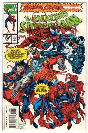 The Amazing Spider-Man #379. David Michelinie, Mark Bagley