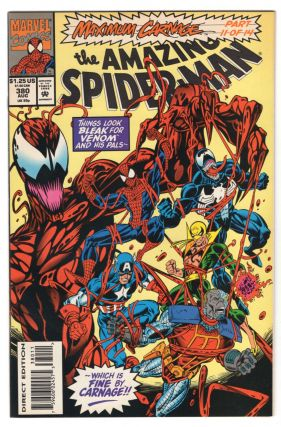 The Amazing Spider-Man #380. David Michelinie, Mark Bagley