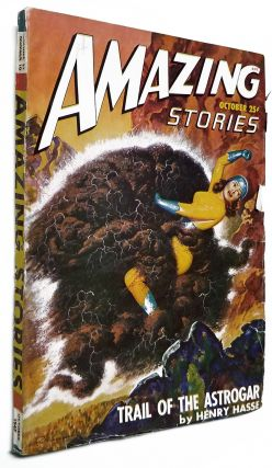 Trail of the Astrogar in Amazing Stories October 1947.