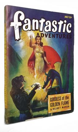 Goddess of the Golden Flame in Fantastic Adventures July 1947.