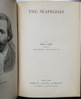 The Scapegoat.