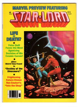 Marvel Preview #14 and #18 Featuring Star-Lord.