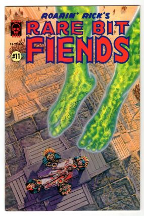 Roarin' Rick's Rare Bit Fiends 14 Issue Run. (With Several Signed by Rick Veitch).