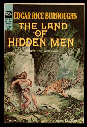 The Land of Hidden Men. Edgar Rice Burroughs