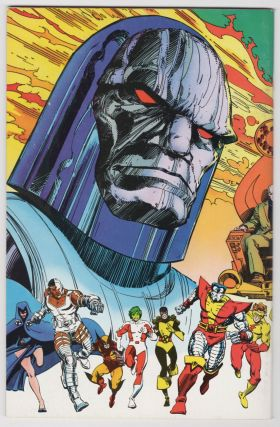 Marvel and DC Present Featuring the Uncanny X-Men and the New Teen Titans Newsstand Edition.