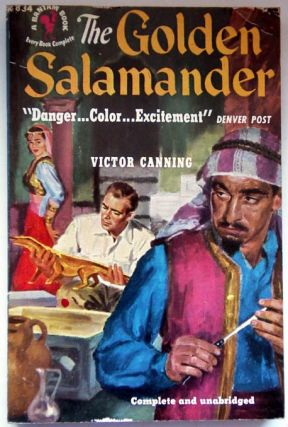 The Golden Salamander. Victor Canning
